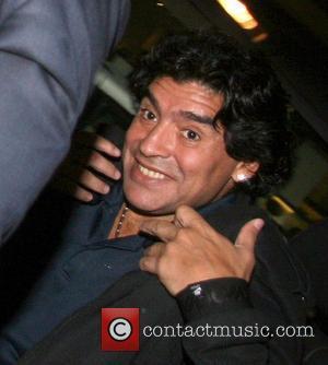 Diego Armando Maradona and Versace