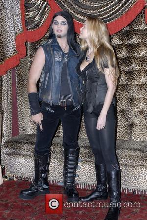 Weston Cage with Christina Fulton at the Grove Anaheim, California - 16.04.08
