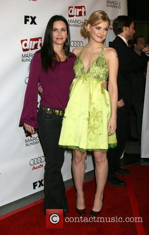 Courteney Cox and Alexandra Breckenridge