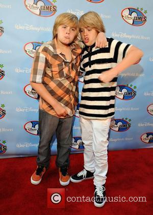 Dylan Sprouse and Cole Sprouse Disney Channel Games at Walt Disney World- Red Carpet  Orlando, Florida - 02.05.08