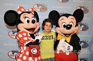 Jake T. Austin and Walt Disney