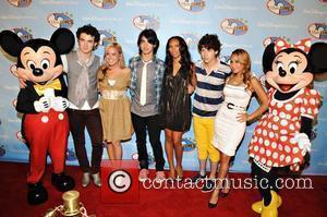 The Jonas Brothers with the Cheetah Girls Disney Channel Games at Walt Disney World- Red Carpet  Orlando, Florida -...