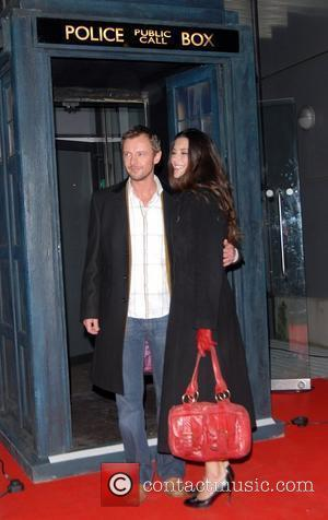 John Simm and guest 'Dr Who' screening of the christmas episode 'Voyage of the Damned' at the Science Museum London,...