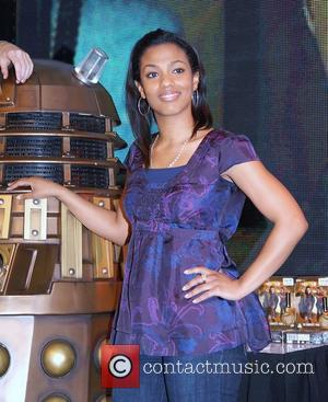 Freema Agyeman meet the public and sign copies of 'Doctor Who', the complete series three DVD box set at HMV...