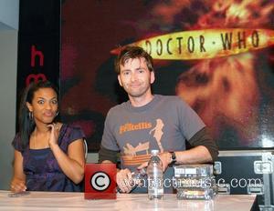 David Tennant, Freema Agyeman and Doctor Who