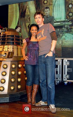 Freema Agyeman, David Tennant and Doctor Who