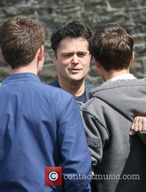 Donny Osmond and family visited the 'Joseph Parry Museum' and talked to a local resident that lives in Chapel Row...