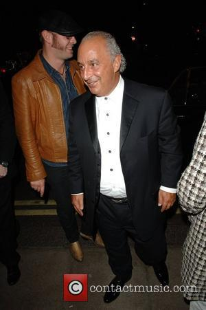 Sir Phillip Green at The Dorchester Hotel London, England - 18.09.07