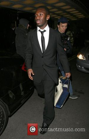 Shaun Wright-Phillips leaving the Dorchester Hotel. London, England - 01.02.08