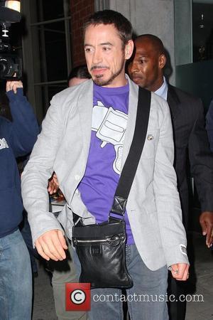 Downey Jr. Battles To Keep Drug Demons At Bay