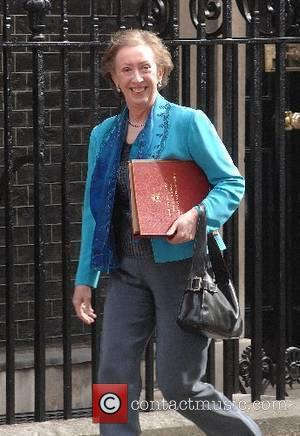 Margaret Beckett Ministers arrive for a cabinet meeting at 10 Downing Street before the Prime Minister is due to announce...