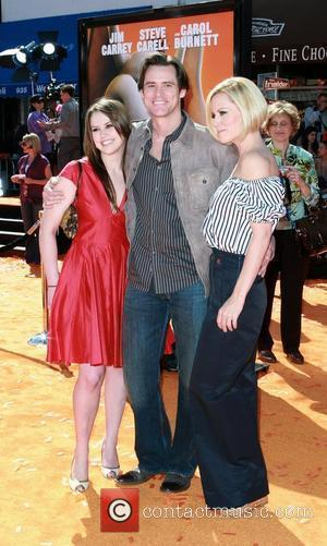 Jim Carrey, daughter Jane Carrey and Jenny Mccarthy Dr. Seuss Horton Hears A Who! Premiere - Red Carpet Los Angeles,...