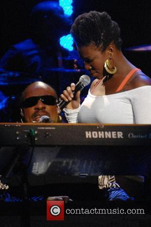 India Arie and Stevie Wonder