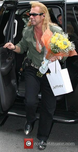 Duane 'The Dog' Chapman arrives at his hotel in Manhattan New York City, USA - 07.08.07