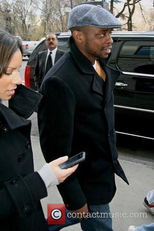 Psych actor Dule Hill out and about in Manhattan New York City, USA - 26.03.08