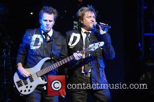 John Taylor and Simon LeBon of Duran Duran performs live on the