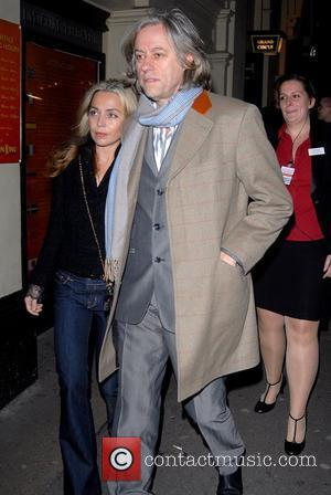 Geldof's Pixie Parties In Cheap Pub