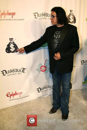 Gene Simmons Launch party for the Dussault Apparel Motel store on Melrose Avenue - Arrivals  Los Angeles, California -...