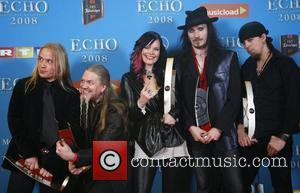 Nightwish Echo Deutscher Musikpreis 2008 Awards at ICC - Press Room Berlin, Germany - 15.02.08