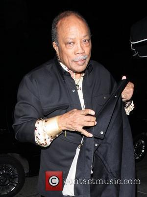 Quincy Jones and Eddie Murphy