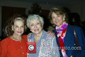 Joan Copeland, Celeste Holm and Maria Cooper Janis