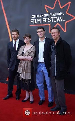 Ryan Phillippe, Director of the film festival Hannah McGill, Director Billy Ray and Chris Cooper