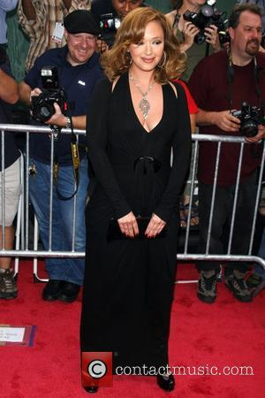 Leah Remini New York Premiere of 'El Cantante' held at AMC Empire 25 theatre - Arrivals New York City, USA...