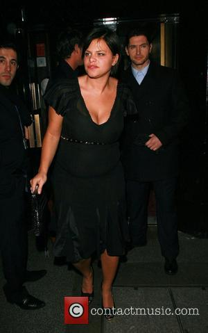 Jade Goody leaving Embassy nightclub London, England - 01.12.07