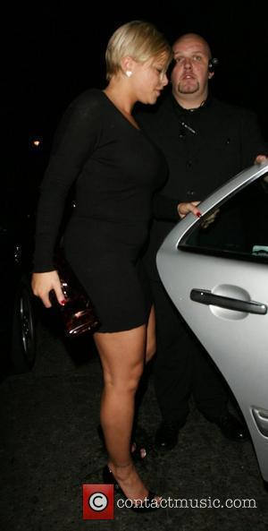 Jade Goody leaving the Embassy Club London, England - 13.10.07