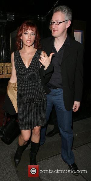 Gabriela Irimia of The Cheeky Girls, and politician Lembit Opik leaving the Embassy Club. London, England - 26.01.08