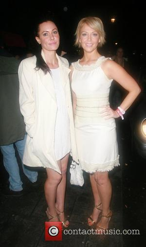 Linzi Stoppard and Liz Fuller at the Embassy Club London, England - 16.01.08