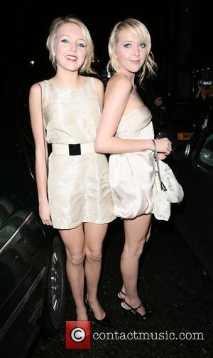 Amanda Marchant, Sam Marchant leaving the OK Magazine New Year Party and held at Embassy Nightclub