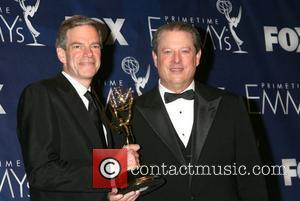 Al Gore and Guest The 59th Primetime Emmy Awards at The Shrine Auditorium - press room Los Angeles, California -...