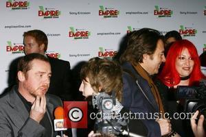 Simon Pegg, Jonathan Ross and Jane Goldman