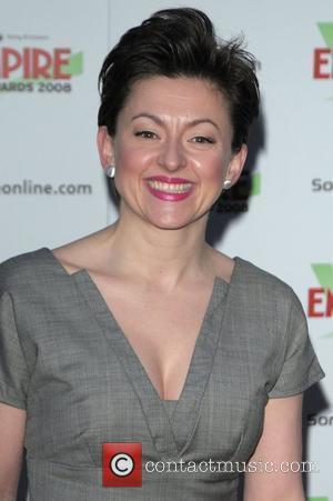 Jo Hartley Empire Film Awards held at  Grosvenor House Hotel London, England - 09.03.08