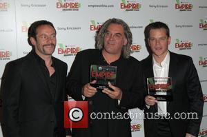 Jason Isaacs, Matt Damon and Paul Greengrass