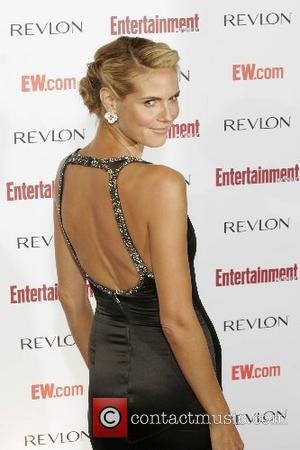 Heidi Klum and Entertainment Weekly