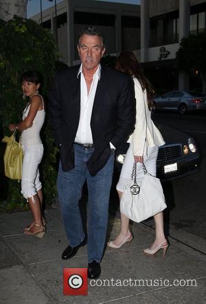 Eric Braeden outside the Ivy restaurant after having dinner Los Angeles, California - 19.05.08