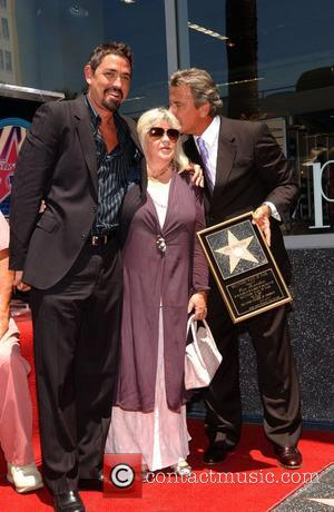 Eric Braeden and guests Eric Braeden is honored with the 2,342nd star on the Walk of Fame on Hollywood Blvd...