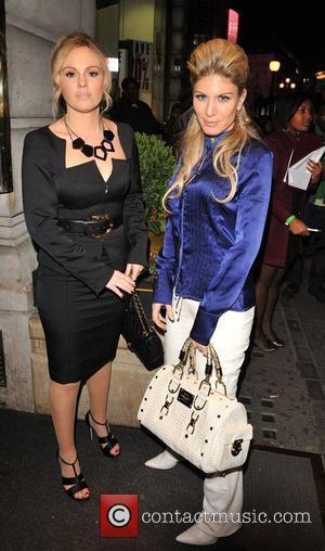 Michelle Dewberry and Hofit Golan