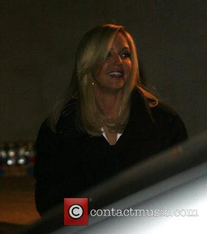 Heather Locklear filming a commercial for cosmetics company L'Oreal  Los Angeles, California - 13.12.07