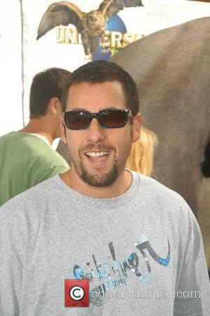 Sandler Clenches For Filmshoot