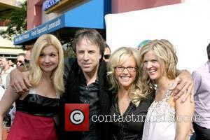 Susan Yeagley, Kevin Nealon, Rachael Harris, and Arden Myrin World Premiere of 'Evan Almighty' at the Gibson Amphitheatre Universal City,California...