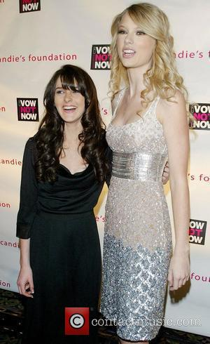 Ali Lohan and Taylor Swift
