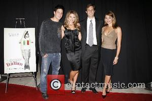 Jay Jablonski, Cerina Vincent, Jason Todd Ipson-Director and Marisa Petroro  The premiere of ' Everybody Wants to Be Italian...