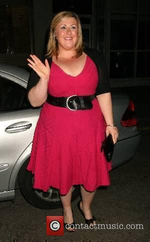 Michelle McManus arriving at The Evite Night At The Theatre Afterparty held at Crystal Nightclub  London, England - 31.05.07
