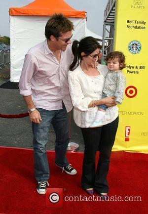 Jason Bateman, Amanda Anka and Family