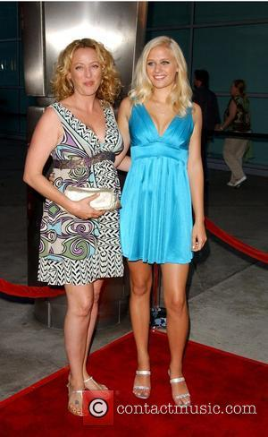 Virginia Madsen and Carly Schroeder