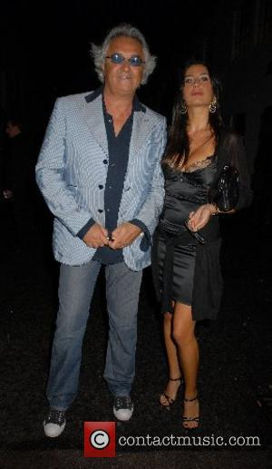 Flavio Briatore The F1 Party - Departures. The party is sponsored by Bernie Ecclestone and hosted by Great Ormond Street...