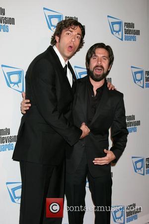 Zachary Levi and Joshua Gomez